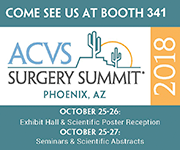 ACVS 2018 Surgery Summit graphic
